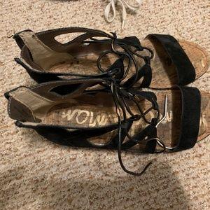 Sam Edelman Black Sandals